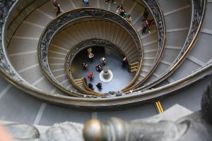 The stairs in the Vatican... by downloader47