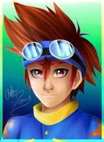 Digimon: Tai by Oskar-Draws