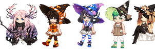 Gaia OTA Batch 3 - Wonderful Witches [OPEN 4/13] by F1SHCAK3