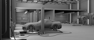 Garage: 3d Modeling Studio project - FINAL 1 by bewsii