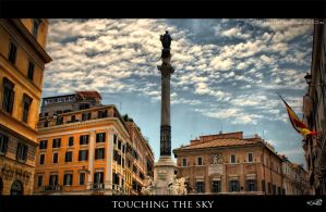 touching the sky by archonGX