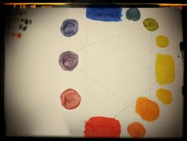 Color Wheel Take 2 by Vyechi