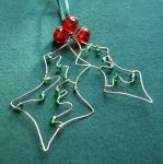 Holly - a Christmas decoration by SneddoniaDesigns