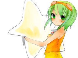 gumi doodle by Ackyu-chan