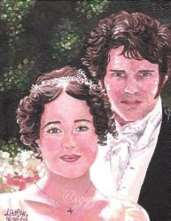 Pride and Prejudice by iggytheillustrator