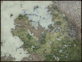 Regional Map - Valais by Levodoom