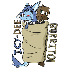 Icy-Dee Burrito by Kev-Dee