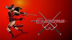 Elektra Wallpaper Defending 1 by Curtdawg53