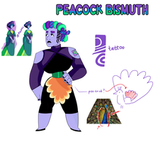 [ Peacock Bismuth ] by LittlePidgie