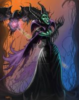 Maleficent! by VisibleFire