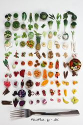 100 days of miniature fruit and vegetables by PetitPlat