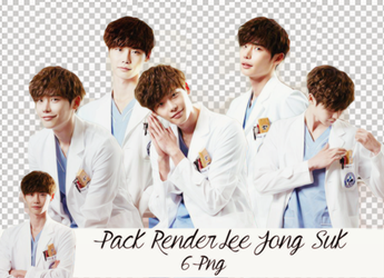 Pack PNG Lee Jong Suk By Ken by kenqueenstics