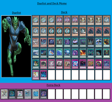 Duelist and Deck - Goblin by MarioFanProductions