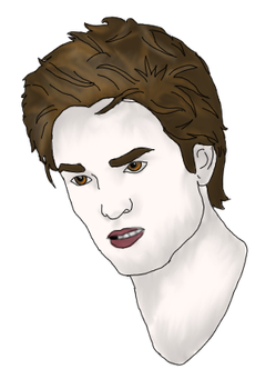 Edward Cullen by Flaming-Cheetah