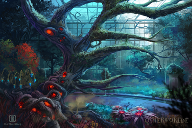 Greenhouse for mysterious plants by MalthusWolf