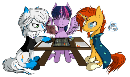 Commission- Dungeons and Dragons by JustMac-Art