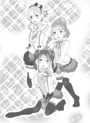 LOVE LIVE! Public Relations Committee by kaitquefait
