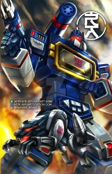 SOUNDWAVE and RAVAGE by aerlixir