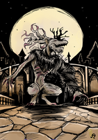 Cleric Beast by Anzhyra