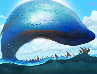 Ocean Giant by Thylacinee