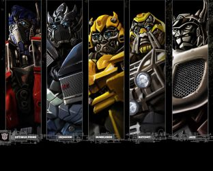 Autobot portraits by dylanliwanag