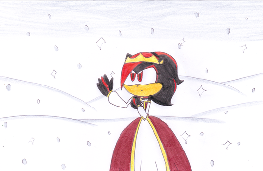 Shady in the Holiday Dress by Jack-Hedgehog