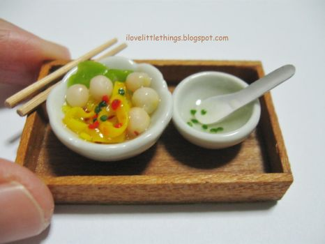 Miniature Fishball Noodles by ilovelittlethings