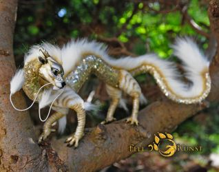 Poseable Art Doll, Chinese Baby Dragon by FellKunst