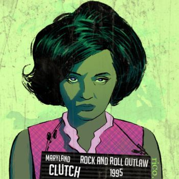 Clutch Rock N Roll Outlaw for Alphabands by whoisrico