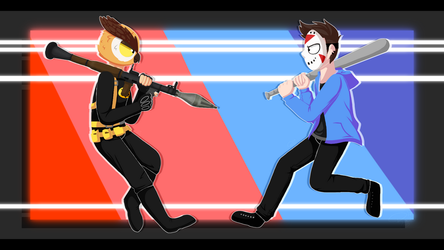 Vanoss and Delirious Wallpaper by h1bou