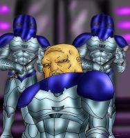 10 Days of Doctor Who Challenge: The Sontarans by ElementalAngel