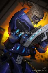 Garrus from Mass Effect by LorBot