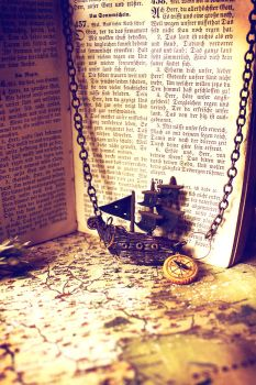 A Pirate's Tale - Locket by sixAstray