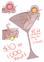 Tipsy YCH (6 OPEN) by RonnieIsCrying