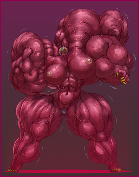 JERICHO MUSCLE GROWTH THREE by B9TRIBECA