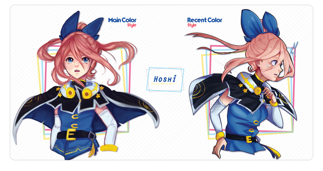 Main Color vs Recent Color Style! by ZeonXeria