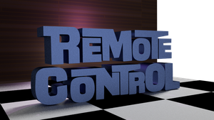 Remote Control logo by fixxed2009
