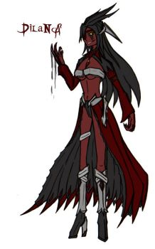 DilaNA, the Bloodthirsty Relic by Raptor-Onii