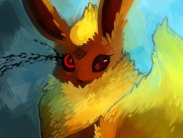 Another Flareon by Dhui