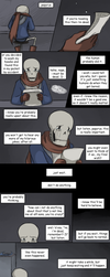 [UNDERTALE SPOILERS] it'll be okay by zarla