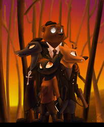 Night In The Woods by Katnay
