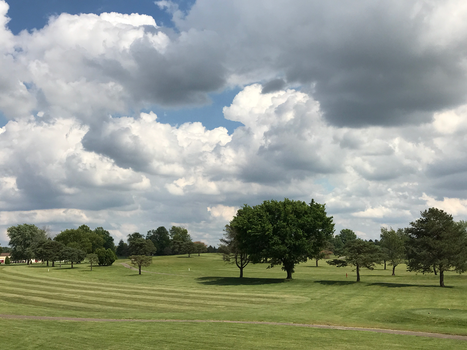 BT GC Clouds Over the Course IMG 2001 by TheStockWarehouse