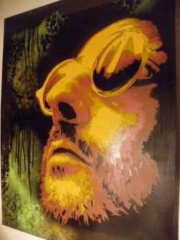 Leon The Professional Stencil by Sabin23