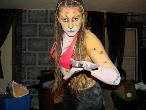 Serval Bodypaint - 2008 by BreachofReality