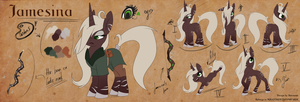 Jamesina [Reference Sheet] by Shivannie