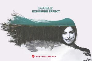 Double Exposure Effect Tutorial by Layerform