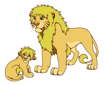 Father and Son by Semargl-Wolf