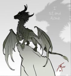 Alone... by elasticdragon