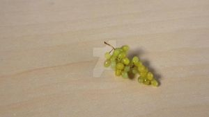 1:12 polymer clay grapes by sugarcharmshop