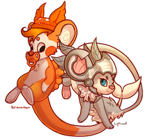 Couple Of Mice by wrensw